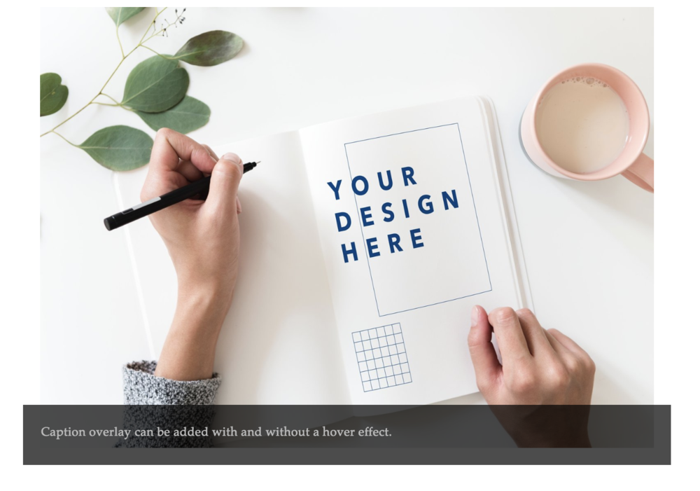 Inline Layout With Overlay On Squarespace