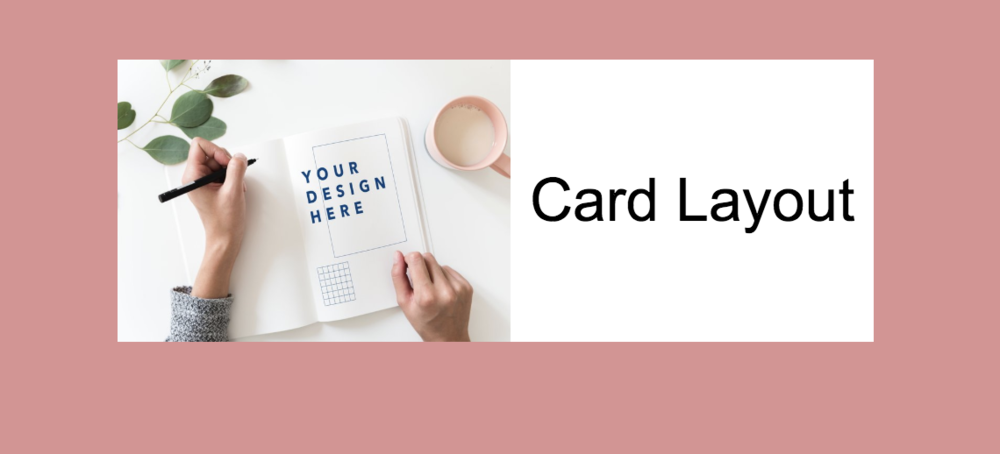 Card layout on Squarespace