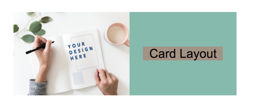 Card with title color on Squarespace