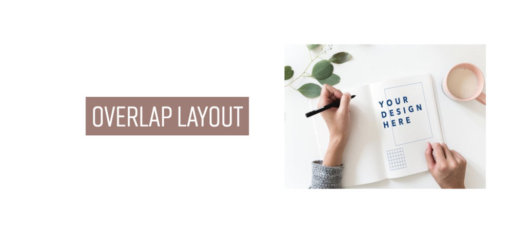 Overlap Layout with Squarespace