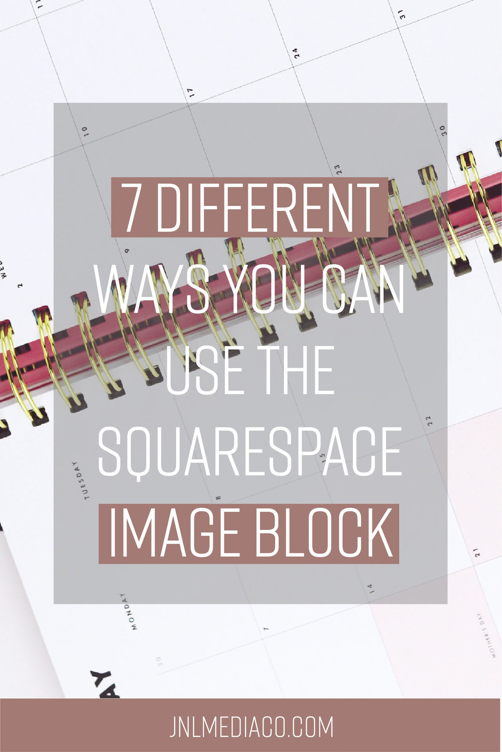 If you have a website then there's a 99.9999% chance you will be using images on your site. There's a couple of ways you can include images on your site with Squarespace but I'll be focusing on breaking down the image block for you.