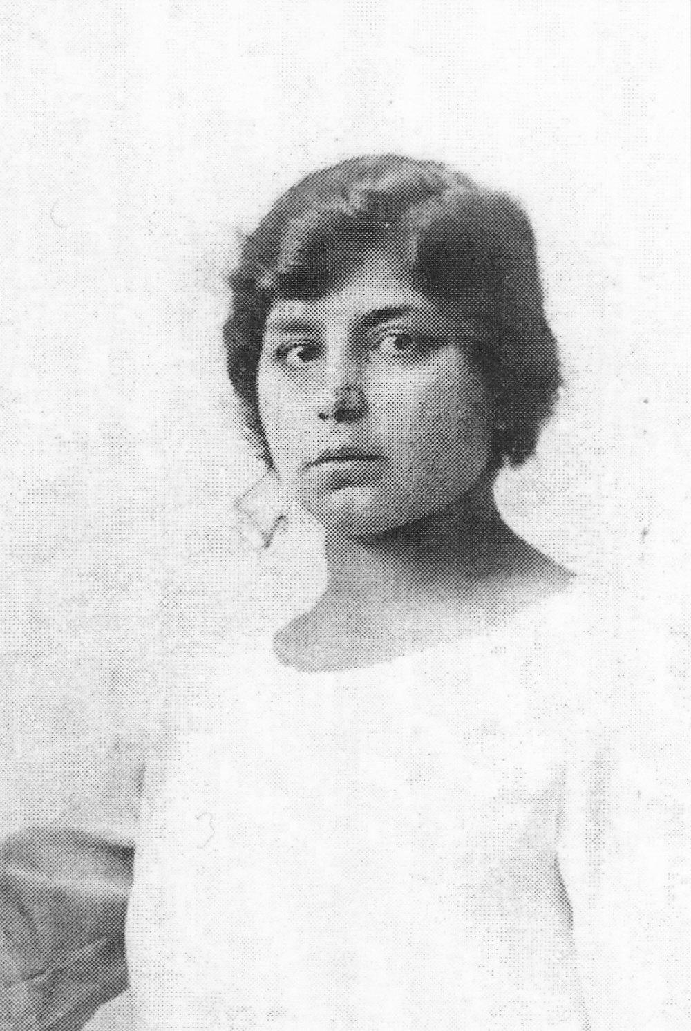 roland's grandmother, age 19
