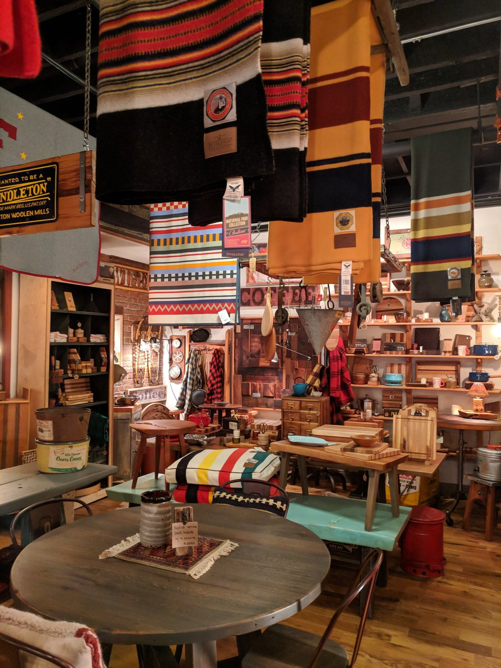Jonathan Moran Woodworks - Visit this cozy shop in the new Pennsylvania Market building on 19th Street to find gorgeous, hand crafted wood pieces. From furniture, to cutting boards, to bar accessories, you can't go wrong gifting one of these items!