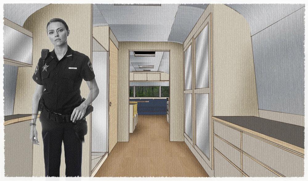SIOBHAN'S TRAILER - 3D MODEL BEDROOM VIEW