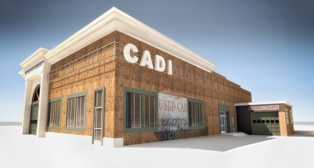 'CADI' EXTERIOR LOCATION WITH ADD-ONS - 3D RENDERING