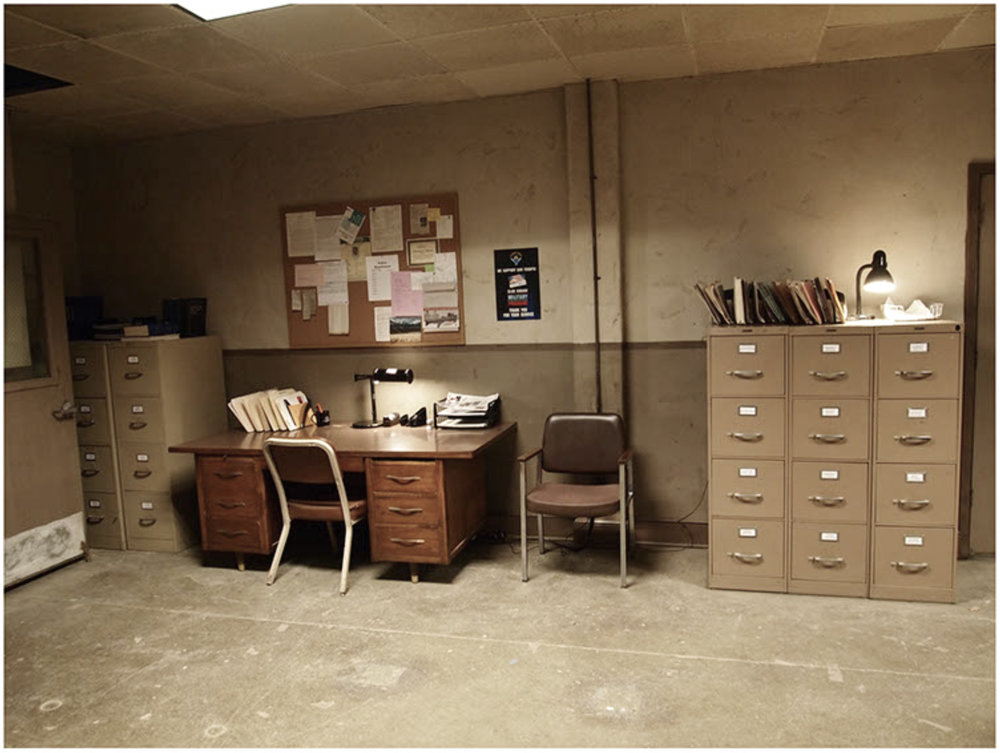 'CADI' OFFICES - SET PHOTO