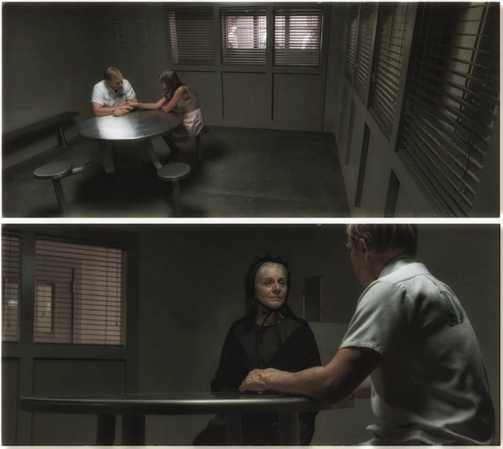 PRISON VISITATION ROOM - PRODUCTION STILLS
