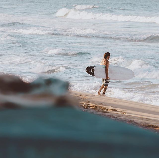 """The best surfer out there is the one having the most fun."" Phil Edwards #gisellefiallophotography #surfing #surf #sunsetsession #camzsurf #camzsurfing #macaobeach #puntacana #caribbeanlife"