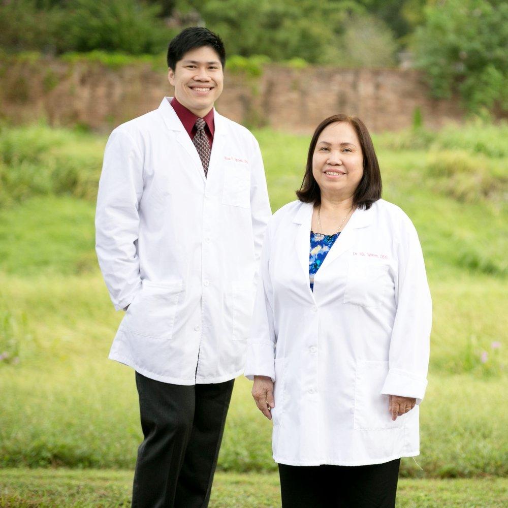 Dr. Khoa Nguyen and Dr. Mai Nguyen