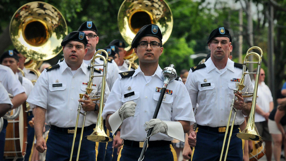 144th Army Band: Five Star Brass Quintet  1:00 p.m.