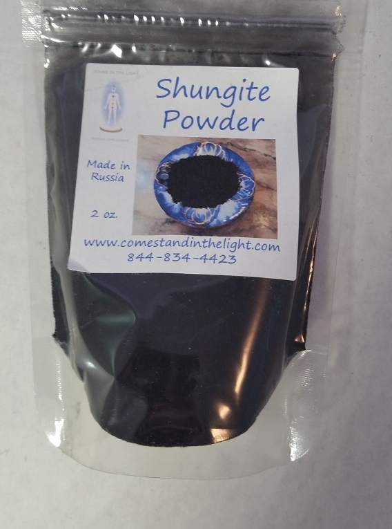 Shungite Powder — Stand in the Light