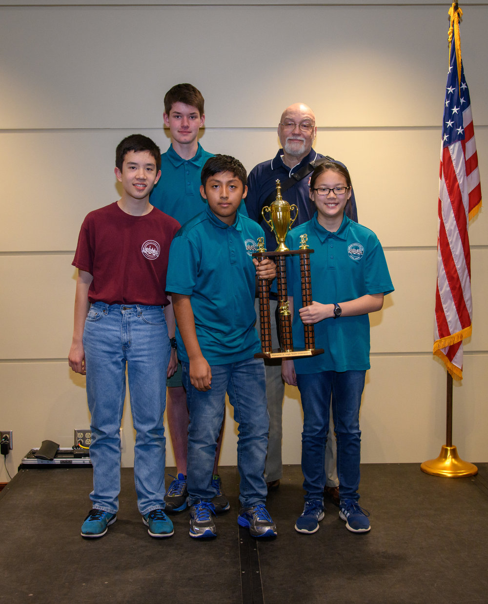 Discovery Middle: K-9 Team Champions