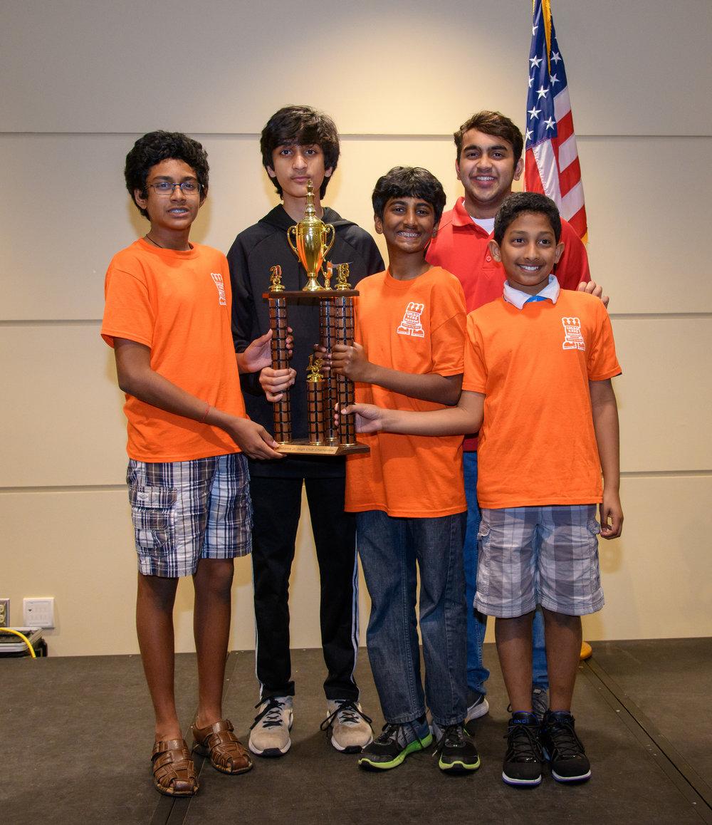 ChessKidsNation: K-9 Club Champions
