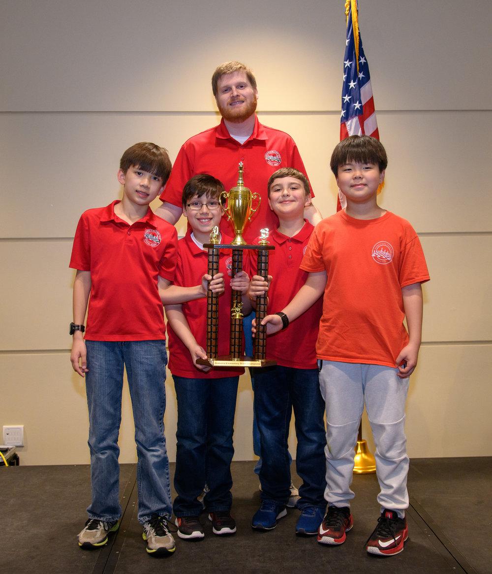Rainbow Elementary: K-6 Team Champions