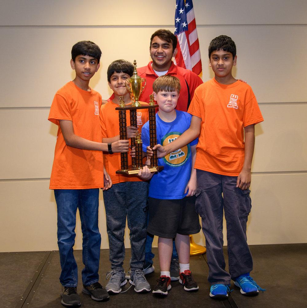 ChessKidsNation: K-6 Club Champions