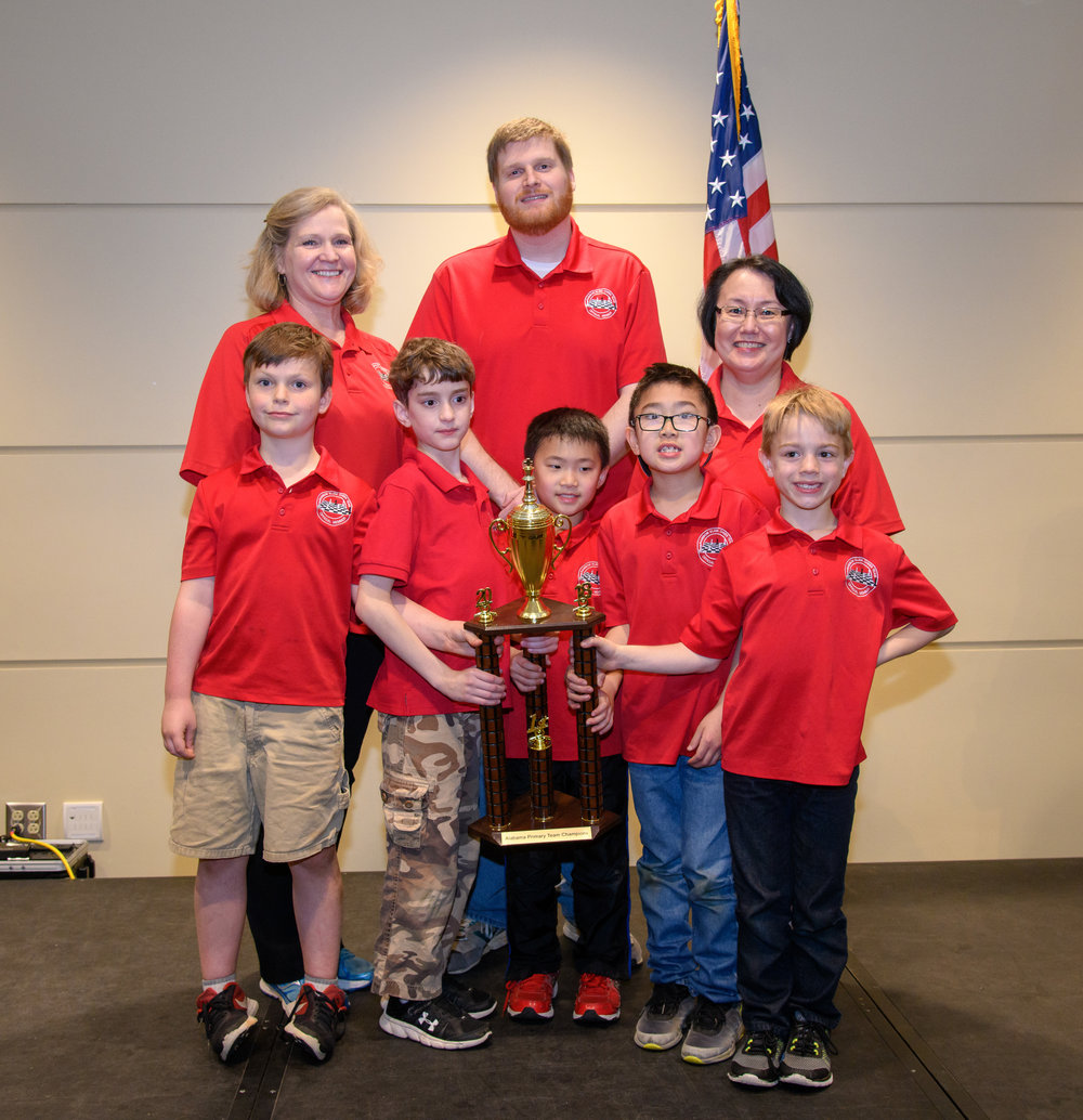 Rainbow Elementary: K-3 Team Champions