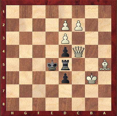 Black to Play - Helpmate in 2 (Black helps white mate him in two white moves [4 ply to be played])