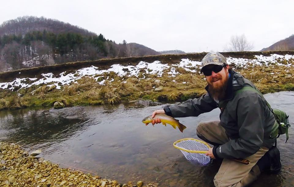 Wisconsin trout, spring creek