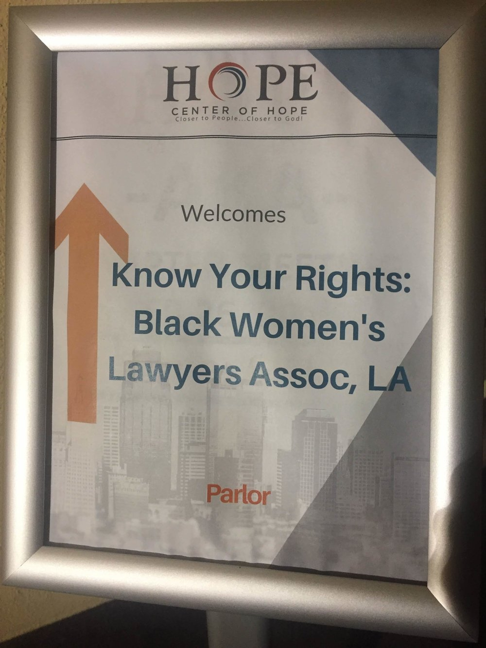 BWLA at Center of Hope - February 28, 2019 6:30pm - 8:30pm