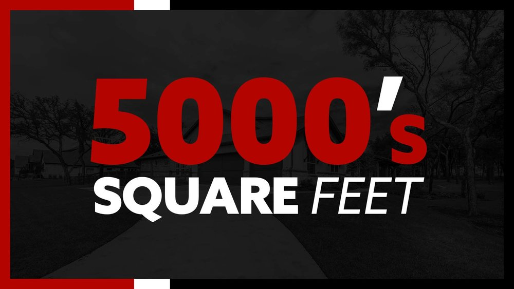 5000 sq ft floor plan custom home dfw