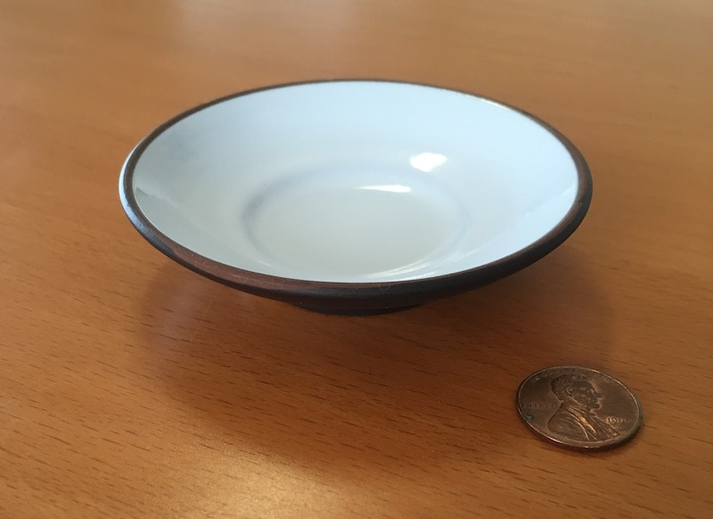 A deep saucer. An unusual but not uncommon choice for serving tea.