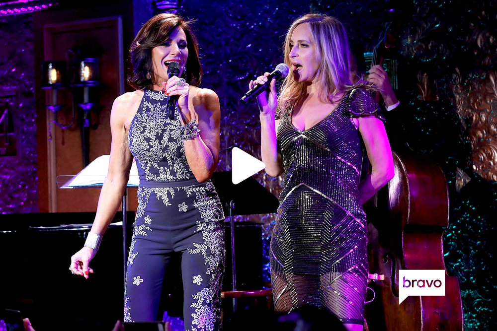 "Luann and Sonja perform ""Money Can't Buy You Class"" at Feinstein's/54 Below in New York City on Tuesday, February 27."