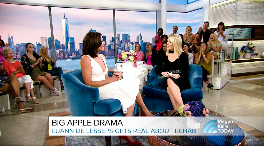"Just 10 days after leaving rehab for the second time, ""The Real Housewives of New York City"" star Luann de Lesseps sits down with Megyn Kelly to detail her relapse, her move to upstate New York as a commitment to her sobriety and why she won't appear on the ""Housewives"" reunion episode."