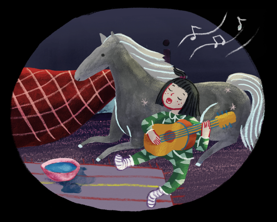 The Blue Horse (2016) - A full color children's play and book written and illustrated by Peyton Skyler & Celeste Lai.The Blue Horse debuted in Shang Hai,China at the Theatre Above summer children's programs in 2016. The play is still touring every summer in cities of China.