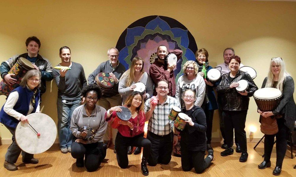 Community Drum Circle at Green Heiress Holistic Health