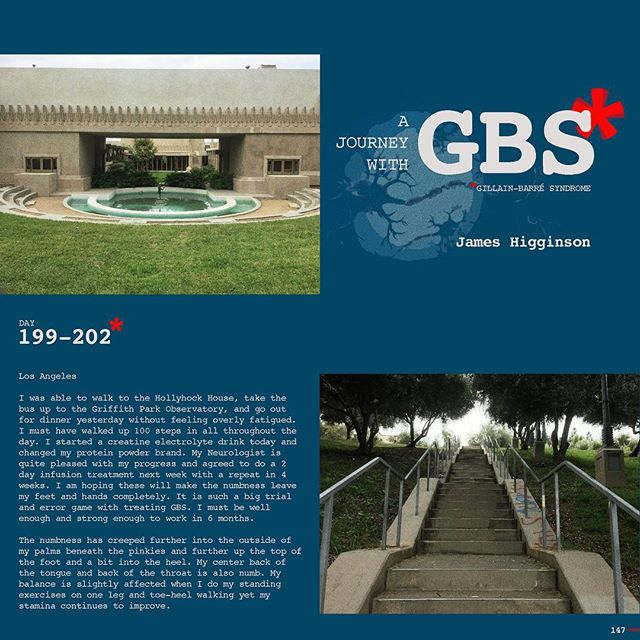 Day 199-202: A Journey with GBS, my journey, are daily posts to share my navigation through this insidious disease. I hope to raise awareness of GBS and add to a dialogue of the syndrome while documenting my recovery. JOIN ME, Follow me on Instagram and repost/share to help spread awareness and share survivor love!!! #jameshigginson #GBS #gillianbarresyndrome #gillianbarresurvivor #thiscanhappentoanyone