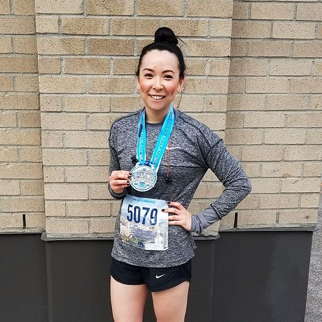 Decided to run a half marathon last week that also happened to land on daylight savings, 13.1 out of 10 would not reccomend signing up for things impulsively #mypatellahurts . . . #sdhalf #whorunstheworld #girls #run #halfmarathon