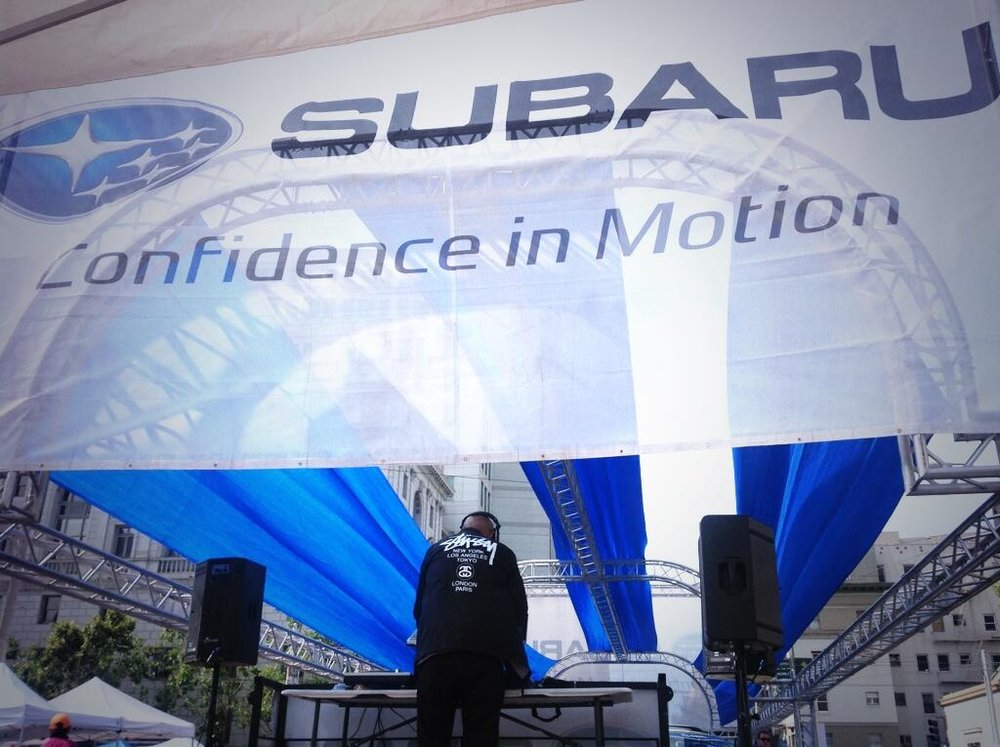 Subaru Booth, Asian Heritage Street Celebration