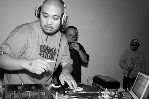 DJ Rhettmatic & Jern Eye   Photo by John Liu/Vaindeer