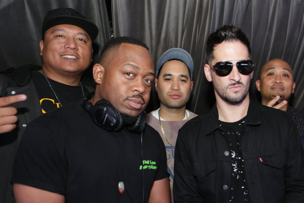 Brian Velasquez, The CME, Prince Aries, and Jon B   Photo by Tony Ng