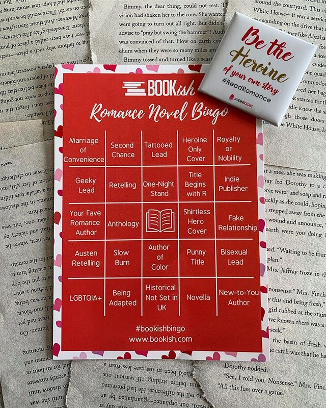 "I'm ready to play bingo!! Anyone else? . . I know some of these will definitely take me outside my usual romance reads, which I'm really excited for. I sometimes (ok, all the time) need a push to do something I normally wouldn't do. I'm definitely a creature of habit and like the things the way I like them. Drives my PMB (pouty man bear) crazy!!!- thank you @tessabaileyisanauthor for that one!!! . . I'm currently working my way though some of the awesome books I got at KissCon. Right now I'm reading Lori Foster for the first time. I can officially mark off ""shirtless hero cover� on my bingo board. . . Anyone else reading a new-to-you author? . . #bookishbingo #bookishfeatures #bookhaul #literarylovebooks #mybookfeatures #lorifoster #romance #bookish #bookishfeatures #booksbooksbooks #bookhoarder #bookaesthetic #bookaholic #bookjunkie #bookaddiction #kisscon #bookaddict #books #readromance @avonbooks"