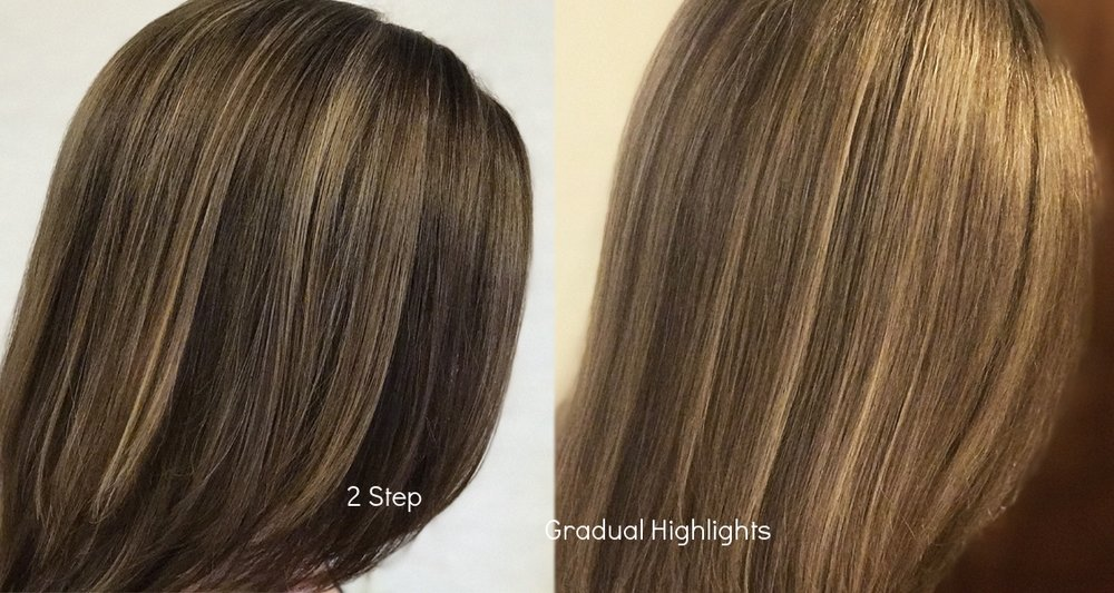 Brunette to Blonde Highlights
