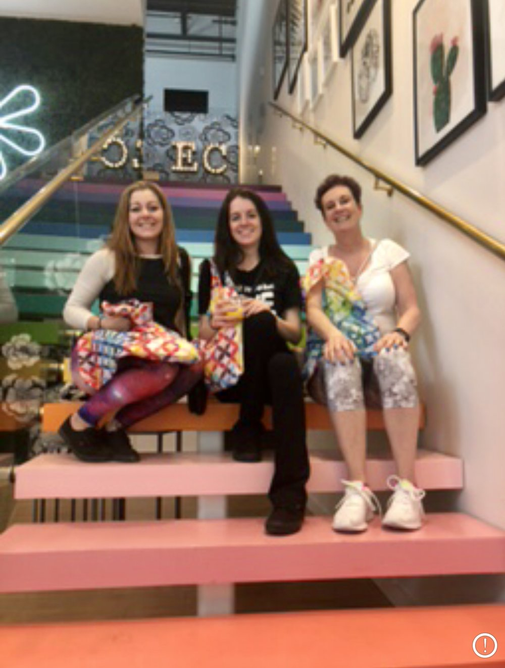 the steps of the Erin Condren Flagship Store