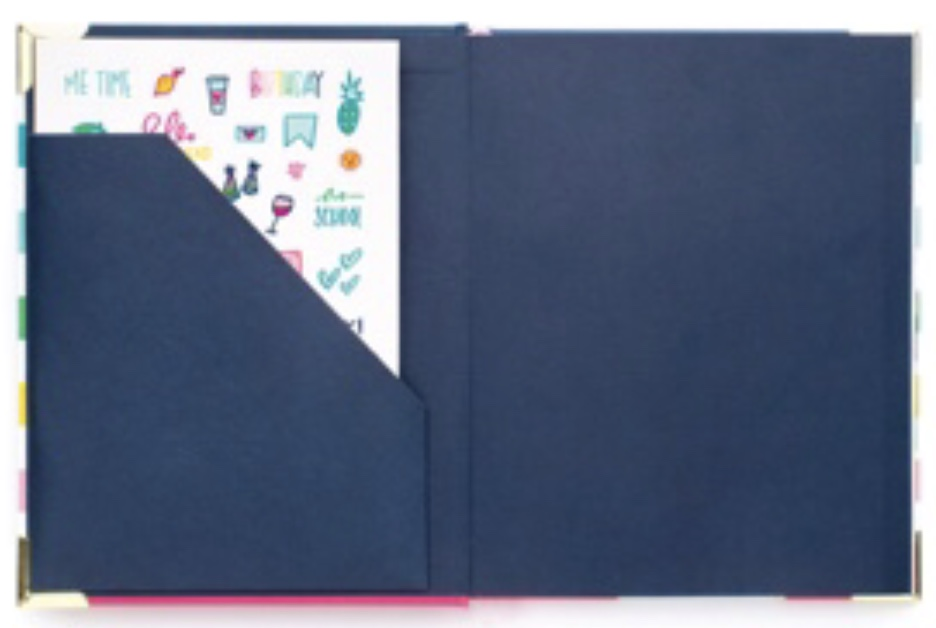 Pocket folder in the Weekly Simplified Planner