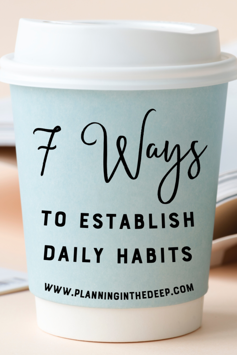 7 Ways To Establish Daily Cleaning Habits.