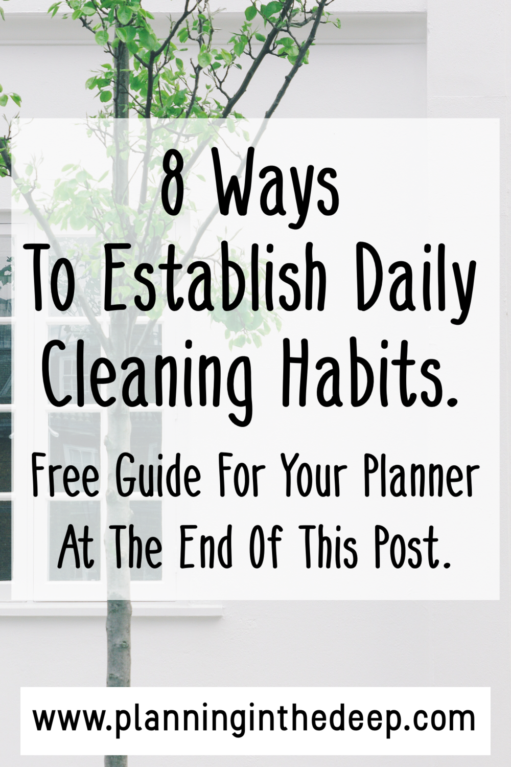 8 ways to establish daily cleaning habits when you feel lazy  free printable