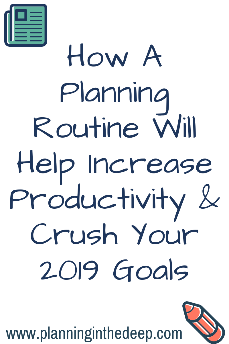 Erin Condren Planner Routine to increase productivity