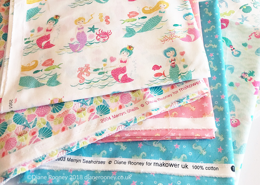 Diane Rooney Merryn Fabric Collection for Makower UK