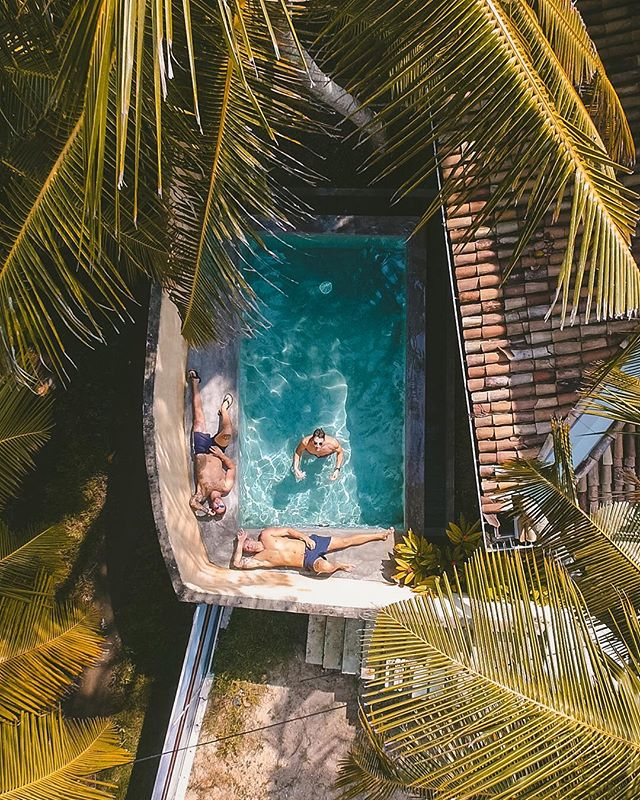 Even the most basic pool villa will look tropical and dreamy🌴✨ Edited with the Thailand Preset from the Travel Preset Pack for Lightroom Mobile + desktop 🖥 📱#ollivvespresets