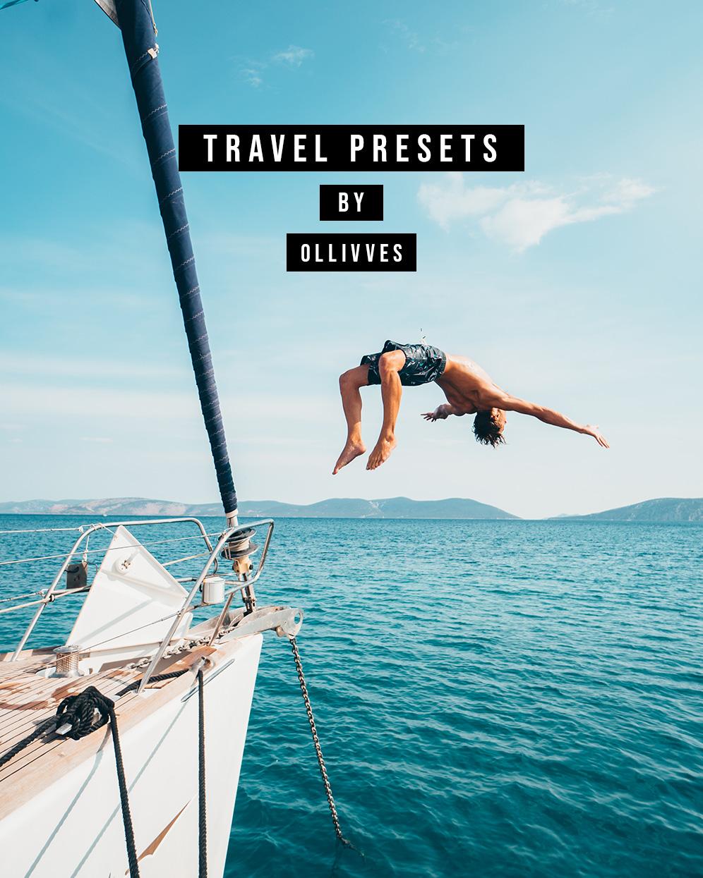 Lightroom Desktop Presets | Travel Presets | Ollivves