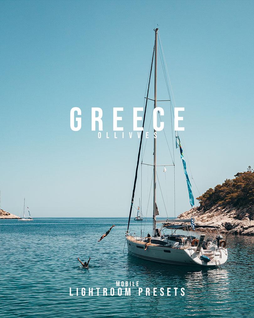 Lightroom Mobile Presets | Greece Presets | Ollivves