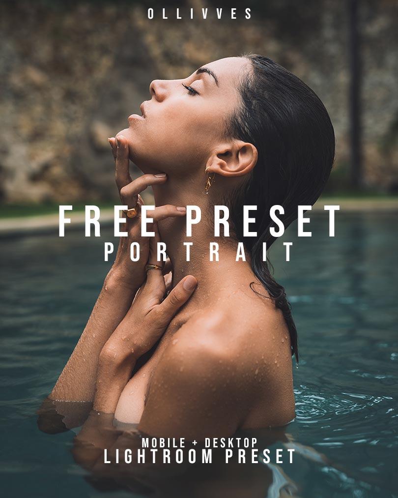 Free Portrait Preset Lightroom Mobile   Ollivves
