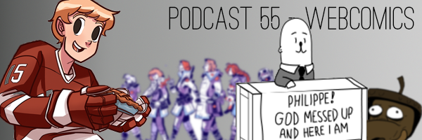 ConSequential Podcast 55 - Webcomics Revisited