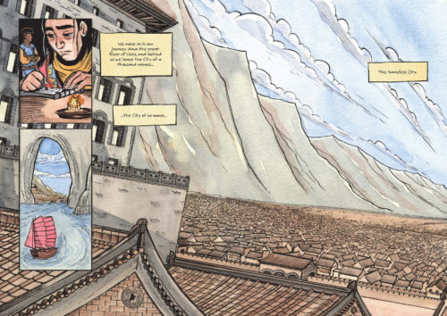 The Nameless City - Faith Erin Hicks & Jordie Bellaire