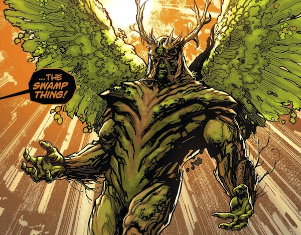Swamp Thing Reboot Wings