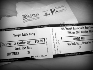 Thought Bubble ticket